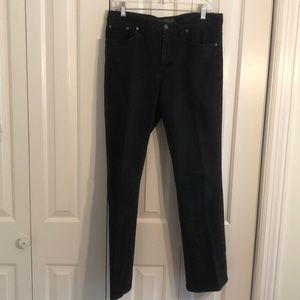 Ralph Lauren size 12 black boot cut jeans